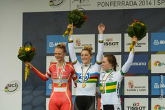 World Cycling Champs 2014 - Ponferrada - Junior Womens TT (sjrowe53) Tags: cycling worlds ponferrada worldchamps seanrowe worldcycling ponferradajwtt