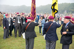 Veterans of the Staffordshire Regiment being photographed by their colleagues #Margetgarden2014 #Airborne_2014