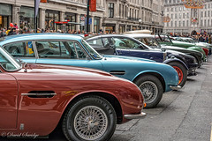 Aston Martin Regent Street (dave savidge) Tags: aston martin london regent street uk england cars sports car db7 db9