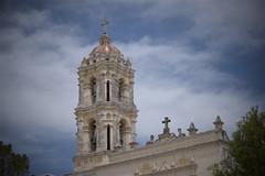 Campanario (Mario Adalid) Tags: campanario torre iglesia parroquia colonial coatepec ixtapaluca df mexico estado mejico