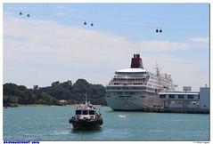 Singapour - Sentosa Walk (olivierzeworld) Tags: singapour asie 2015 2016 expat sentosa walk harbourfront paquebot
