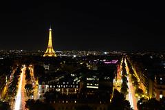 DSC_8414 (Zaric (picsbyzic)) Tags: arcdetriomphe paris france avenuedeschampslyses champslyses longexposure lighttrails
