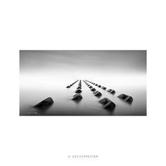 Infinity (Les Forrester) Tags: seascape landscape lettbox infinity monochrome blackwhite fineart concrete water westcoast northwest skancheli