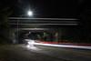 Eisenbahnbrücke Rastatt (bomme) Tags: auto brücke langebelichtung licht lichtspuren nacht rastatt strase verkehr zug brã¼cke straãe