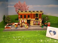 Munich Lego Brand Store Showcase (noggy85) Tags: lego moc pizzeria münchen munich pasing italien italy pizza