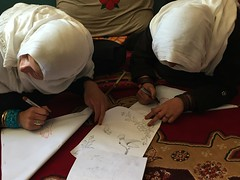 Peace Trek 2016 (UNEP Disasters & Conflicts) Tags: 2016 peacetrek peaceday internationaldayofpeace afghanistan bamyan kohebabamountains nepa students children