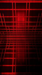 393 (MichaelTimmons) Tags: red grid lines angles symmetrical symmetry digitalart art abstract parallel