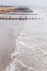 Out of season (lyndakmorris) Tags: lyndamorrislrps littlehampton bognor sea groin waves beach