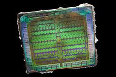AMD@28nm@GCN_1st_gen@Tahiti@Radeon_HD_7950_GHz_Edition@1312_NCC858.00_512-0821065___Stack-DSC03762-DSC03821_-_ZS-retouched (FritzchensFritz) Tags: lenstagger macro makro supermacro supermakro focusstacking fokusstacking focus stacking fokus stackshot stackrail amd radeon hd 7970 tahiti gcn 1st gen 10 28nm gpu core heatspreader die shot gpupackage package processor prozessor gpudie dieshots dieshot waferdie wafer wafershot vintage open cracked