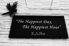 """""""Poem by Poe"""" (23 Photography by Sharon Farrell) Tags: annabellee annabelleetavern baltimore baltimoremaryland maryland eapoe edgarallanpoe poetry"""