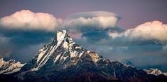 Sunrise over Machapuchare (Fishtail), Annapurna Himalayas, Nepal (CamelKW) Tags: nepal sunrise machapuchare fishtail annapurnahimalayas annapurna himalayas trekking