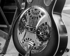 Musical Strings (that_damn_duck) Tags: guitar music instrument musicalinstrument outdoor bw blackwhite