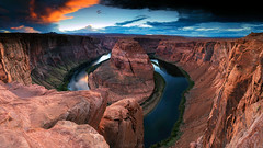 Horseshoe Bend (Tedz Duran) Tags: tedzduran horseshoe bend page arizona az usa america desert rocks formation river lake water cliff sunset golden hour dusk panorama road trip photography travel landmarks national parks park rock outdoor landscape nature scenic