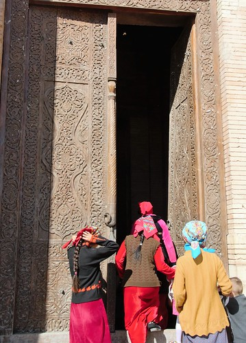 Turkmenistan 541 - Konye (o Kunya)-Urgench - mausoleo di Turabek hanym