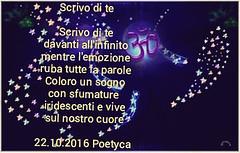 Scrivo di te (Poetyca) Tags: featured image immagini e poesie sfumature poetiche poesia