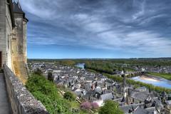 Chinon, Val-de-Loire (Micleg44) Tags: chinon valdeloire indreetloire france centre chteau charlesvii jeannedarc plantagents moyenage touraine vienne hdr explore