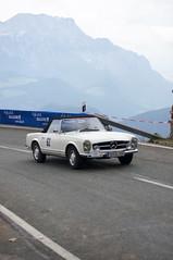 Mercedes 230 SL (1965) (PWeigand) Tags: 2015 bayern berchtesgaden edelweissclassic mercedes230sl1965 oldtimer rosfeldrennen deutschland