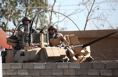 Soldiers Prepare for southern Baghdad mission (USARCENT) Tags: companyc 2ndbattalion 6thinfantry 2ndbrigadecombatteam 1starmordivision forwardoperatingbasefalcon iraq