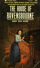 Novel-The-House-of-Ravensbourne-by-Mary-Ann-Gibbs (Count_Strad) Tags: mystery softcover novel books