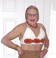tv streetshots cd sock heel transvestite Candid knit