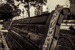 Street life in Madrid (RobertoHerreroT) Tags: plazadeespaña plazaespaña madrid españa spain street robertoherrerotardon canon canon1100d canonista sepia blackandwhite bnw bw bn city europe europa