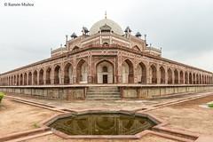DSC5564 Mausoleo de Humayun, año 1565-72, Delhi (Ramón Muñoz - ARTE) Tags: delhi india mausoleo tumba de humayun