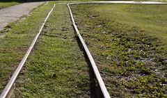 Up the lines (KevPBur) Tags: canon650d canonkissx6i canonrebelt4i canonefs18135mmf3556isstm hurstcastle converginglines curve disused grass leadinglines rail railtrack canon650dcanonkissx6icanonrebelt4i