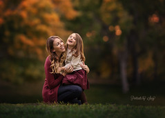 Mommy and Me (Portraits by Suzy) Tags: motherhood moment mother love baby family child girl beautiful beauty cute children happy childhood color nature natural light portraits by suzy mead fall autumn candid 200mm bokeh