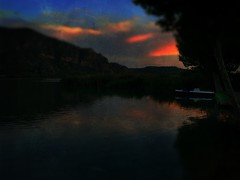 Reflection Sky Beauty In Nature Water Nature Lake Scenics Outdoors Tree Waterfront Tranquil Scene No People Mountain Sunset Cloud - Sky Night (Cesc Cam) Tags: reflection sky beautyinnature water nature lake scenics outdoors tree waterfront tranquilscene nopeople mountain sunset cloudsky night