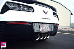 Amazing shapes of CP covered #Corvette. By @ceramicproarizona (CeramicPro) Tags: ceramicpro automotive lifestyle nanoceramic paintprotection nanocoating paintcoating ceramiccoating detailing corvette usa arizona
