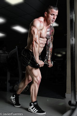 Bodybuilding (javier fuentes photography) Tags: gym fitness nikon nikond7000 strobits tattoo 6pack culturismo bodybuilding