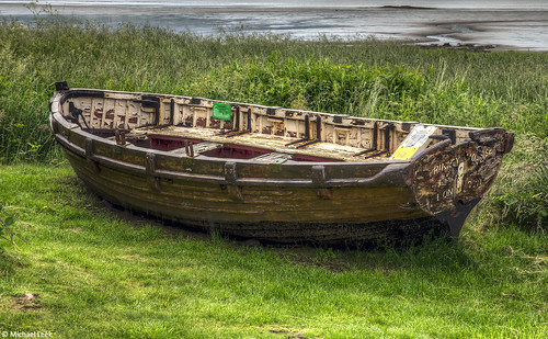 Dinghy; Beauly Firth, Inverness, Scotland