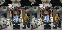 a little bit of Photoshop (urix5) Tags: lego megablocks starwars minions minion stormtroopers r2d2 c3po 3d stereo stereoscopic stereopair stereoscopy crossview crosseyed minifigures hologram photoshop