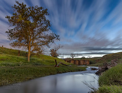 Marsh Creek by Moonlight (mikeSF_) Tags: johnmarsh stonehouse contracosta county california losmeganos ranch rancho landscape oria pentax