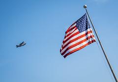 Flyby (sfkjr) Tags: samking samuelkingjr eglin 96thtw 53rdwg 33rd florida nwflorida airforce airman airmen aircraft c130 flag america americanflag flyby eglinairforcebase unitedstates