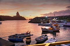 Porto (dotcomdotbr) Tags: fernando noronha sony a77 viagem sal1650 hdr praia gua mar paisagem por sol solar porto navio barco