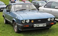 A297 TAR (Nivek.Old.Gold) Tags: 1984 ford capri 16ls 4spd mk3