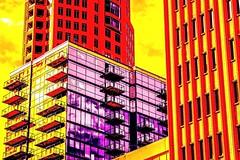 Marmalade Sky (PULSE Photography-Kevin Quinn) Tags: art pop buildings architecture buckhead nikon atl