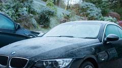 Brrr (grahamrobb888) Tags: nikon nikond800 nikkor50mmf18 nikkor birnamwood forest frost cold perthshire scotland car bmw beemer