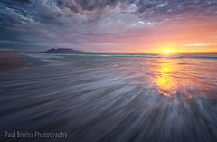 Table Mountain Sparkle Sunset (Panorama Paul) Tags: paulbruinsphotography wwwpaulbruinscoza southafrica westerncape capetown tablemountain blaauwbergbeach clouds rocks waves beach sunset nikond800 nikkorlenses nikfilters