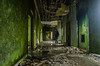 Abandoned (.noctifer) Tags: sãomiguel azores abandoned green man human boy old hunted water house buildind horror indoor abandonment walls alone