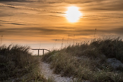 Pi and the Sky - Amelia Island, FL (ChuckPalmer {cepalm}) Tags: ameliaisland sunrise beach hike path pi sky sun topf25 100v10f
