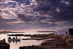 Binisafuller (Ivan Serra) Tags: binisafuller menorca minorca boat barca sunset mediterrani mediterranean balearic islands