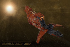 Hound's Tooth (armoredgear7) Tags: starwars lego xwing ship
