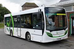 Newport Transport YX12 DME, Alexander Dennis in Monmouth (majorcatransport) Tags: welshbuses newporttransport alexanderdennis monmouth