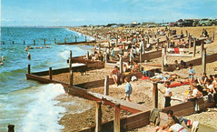 Eastoke Beach 1960s. (SHayling2001) Tags: hayling island hampshire sea tide waves groyne