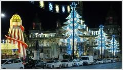 George Square Christmas Lights (Ben.Allison36) Tags: george square christmas lights glasgow city chambers scotland night shot hand held