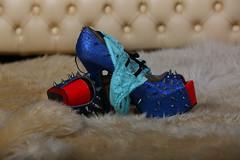 Who lost it (Mettwoosch) Tags: studio break fun funny clothes heels slip flash shooting canon eos 5dm3 5d3 ef lens