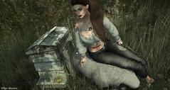 Take care of ... (Pilar Munro 2) Tags: blackrose chscreations meva udesign qposes pilarmunro blogger blog nature countryside