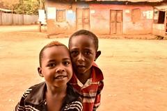 Banna Boys (Rod Waddington) Tags: africa african afrique afrika ethiopia ethiopian etiopia banna tribe tribal omo omovalley keyafer town boys two portrait people culture street streetphotography